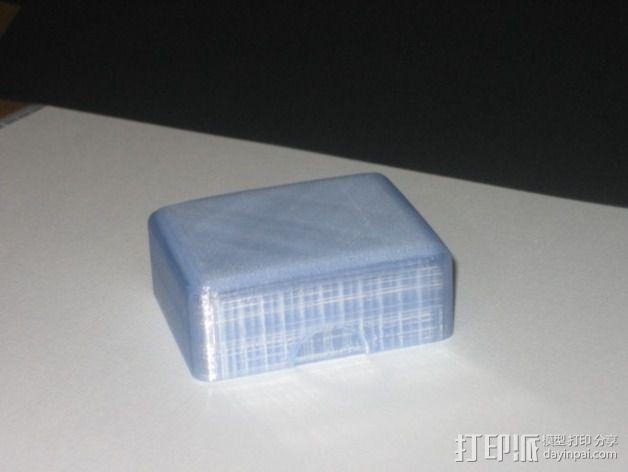 简易肥皂盒 3D模型  图4