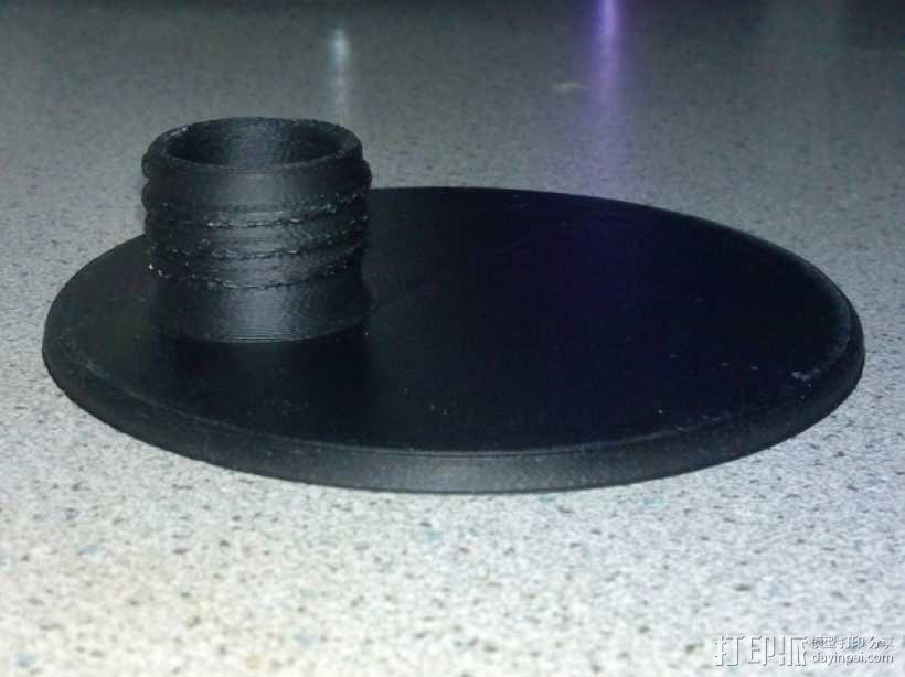 玻璃瓶洗涤剂配适器 3D模型  图2
