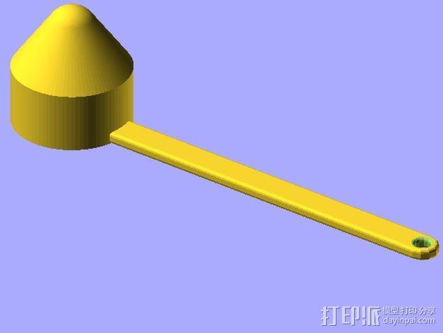 定制化铲子 3D模型  图2