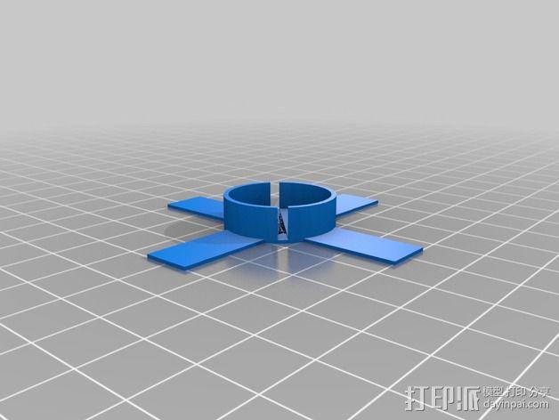 圣诞灯底座 3D模型  图2