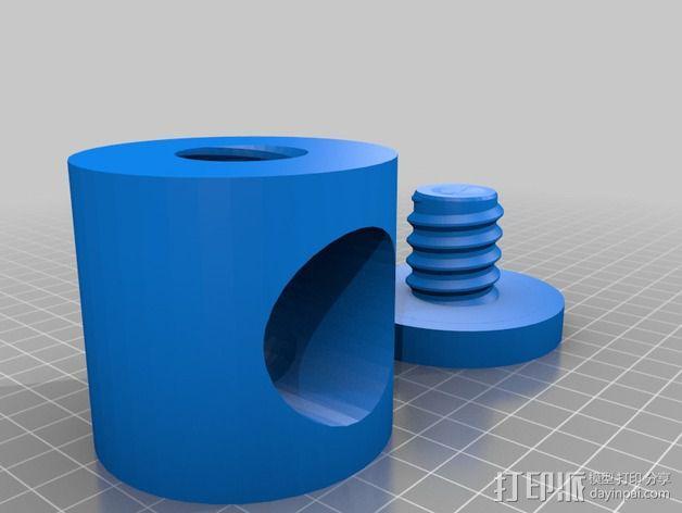 坚果压碎机 3D模型  图2