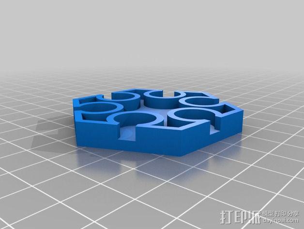 宜家smycke时钟 3D模型  图2
