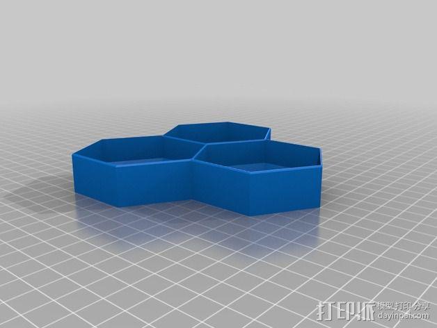 多边形 饼干制作模具 3D模型  图2