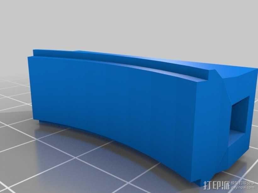 磁力宠物项圈 3D模型  图3