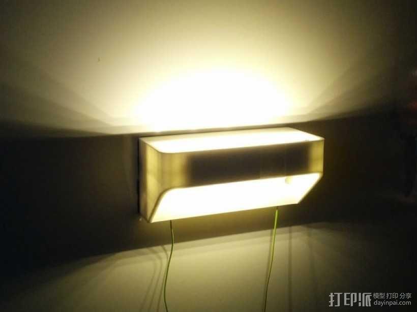 LED灯灯罩 3D模型  图1