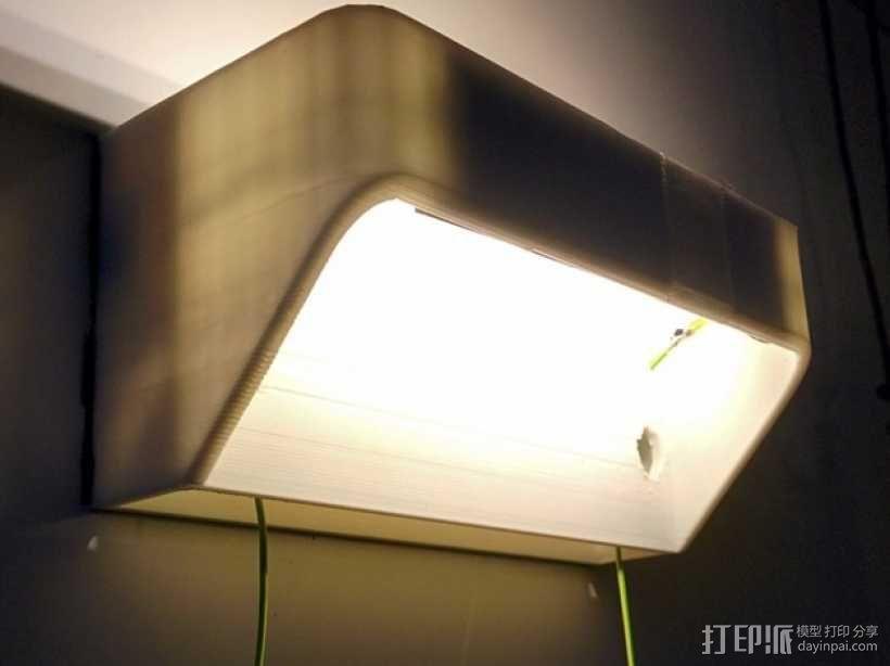 LED灯灯罩 3D模型  图3