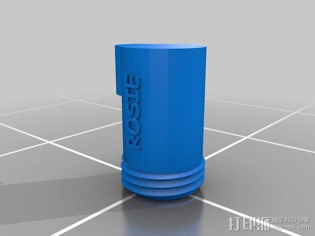 便携式宠物袋分发器 3D模型  图3