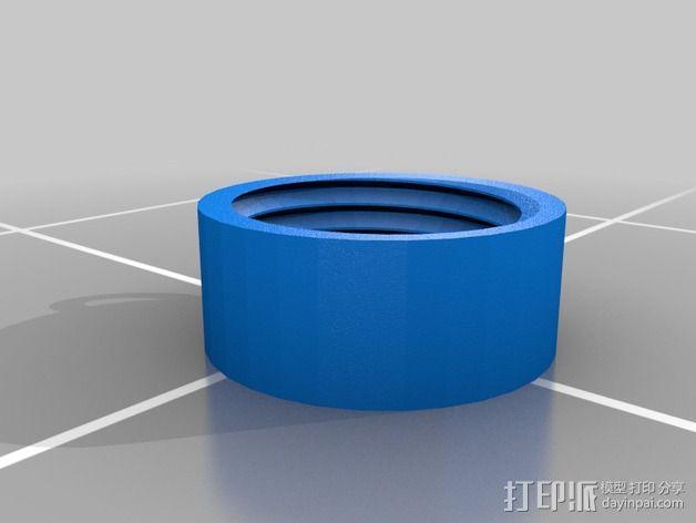 便携式宠物袋分发器 3D模型  图2
