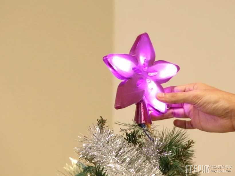 Adafruit圣诞树顶部装饰品 3D模型  图1