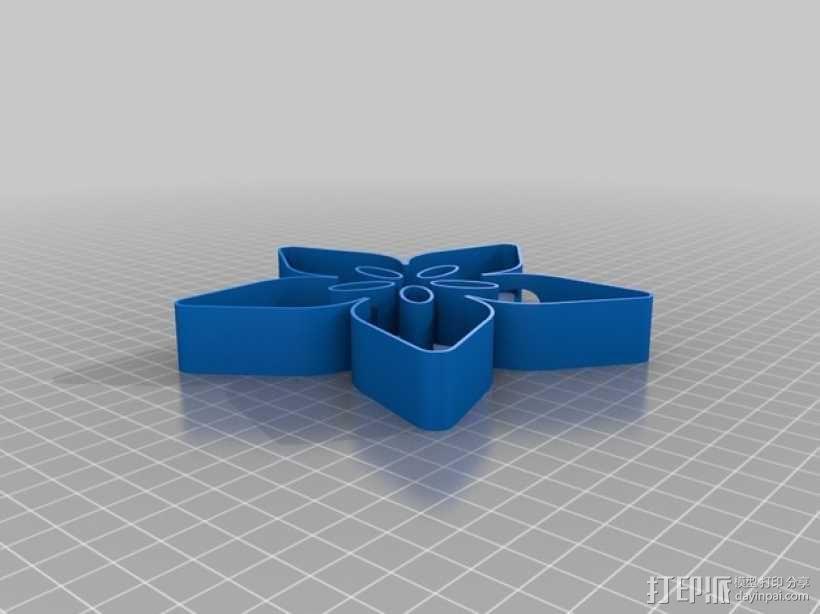 Adafruit圣诞树顶部装饰品 3D模型  图3