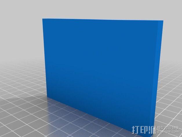 《塞尔达传说》标志 饼干制作模具 3D模型  图3