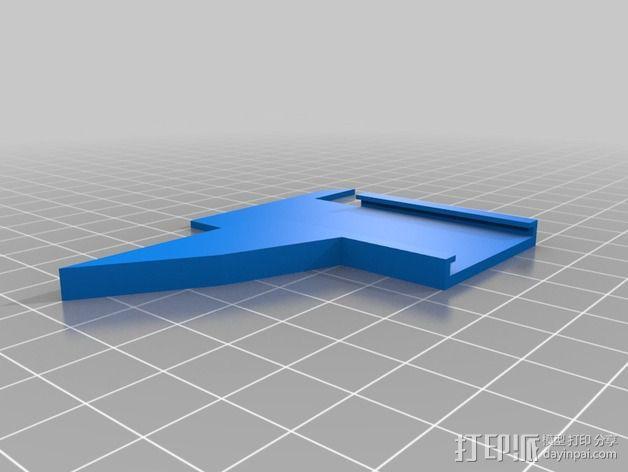 威斯克不锈钢尺 卡尺 3D模型  图2