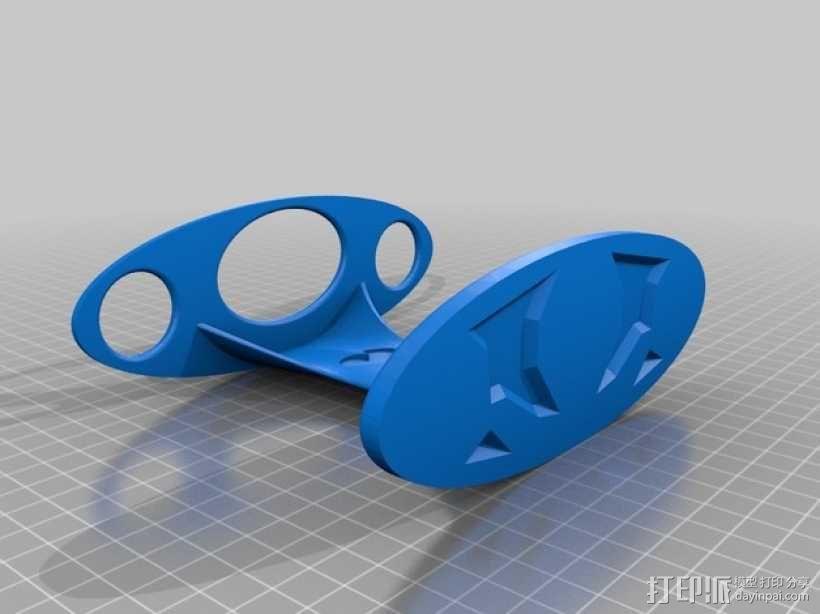 牙刷架 3D模型  图2