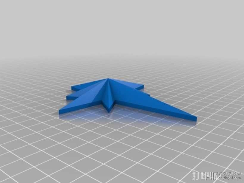 圣诞之星  3D模型  图2