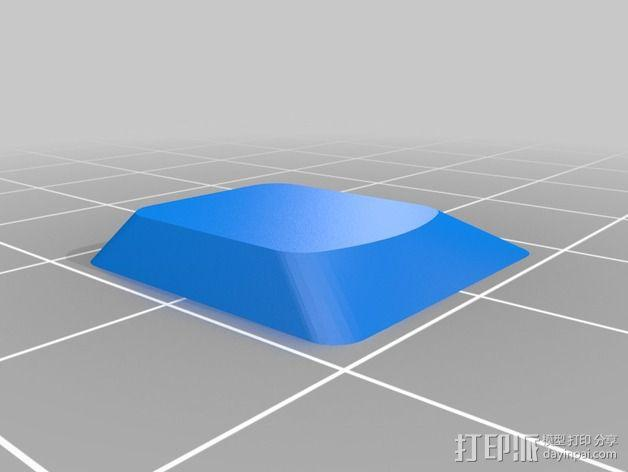 "Thinkpad X61T平板电脑""C""键 3D模型  图2"