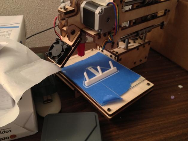 带挂钩的开关面板 3D模型  图3