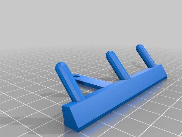 带挂钩的开关面板 3D模型  图2