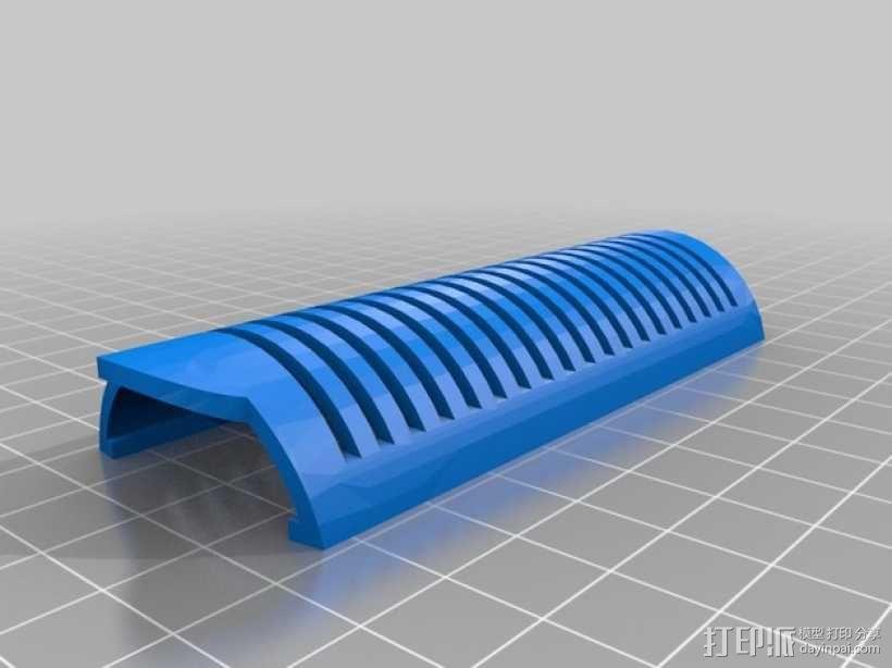 直发器手柄 3D模型  图2