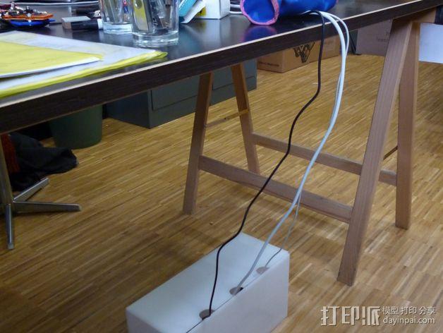 个性化分线盒 3D模型  图2