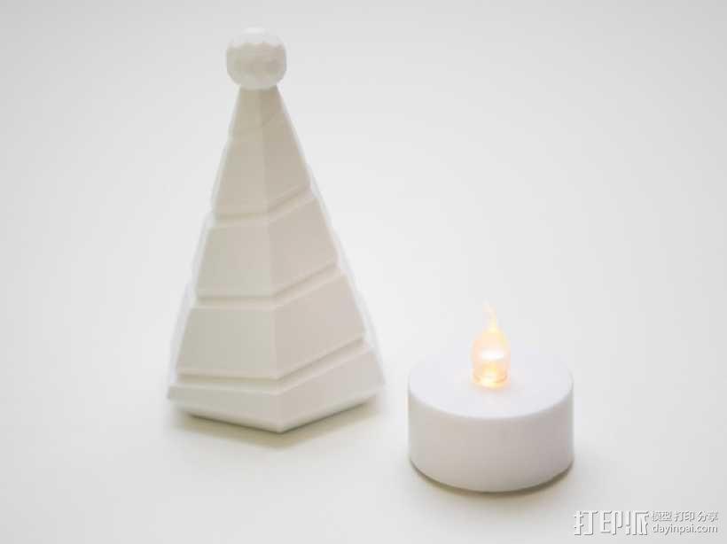 迷你树灯 3D模型  图2