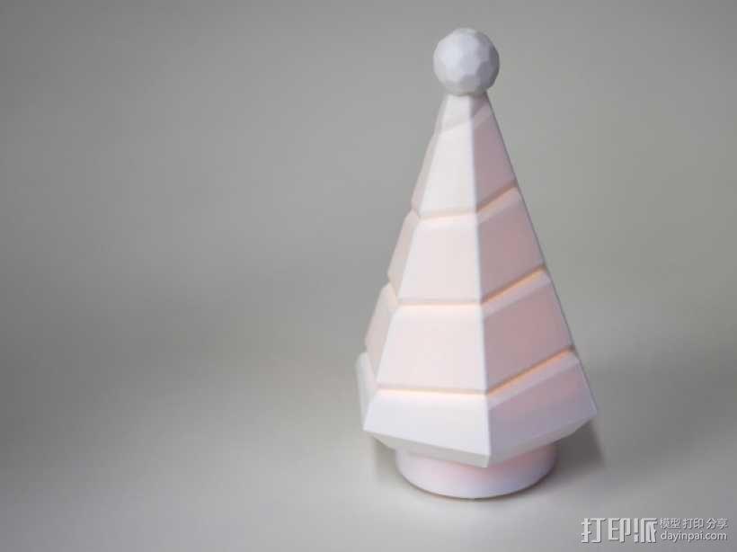 迷你树灯 3D模型  图1
