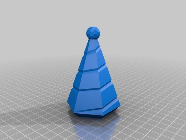 迷你树灯 3D模型  图3