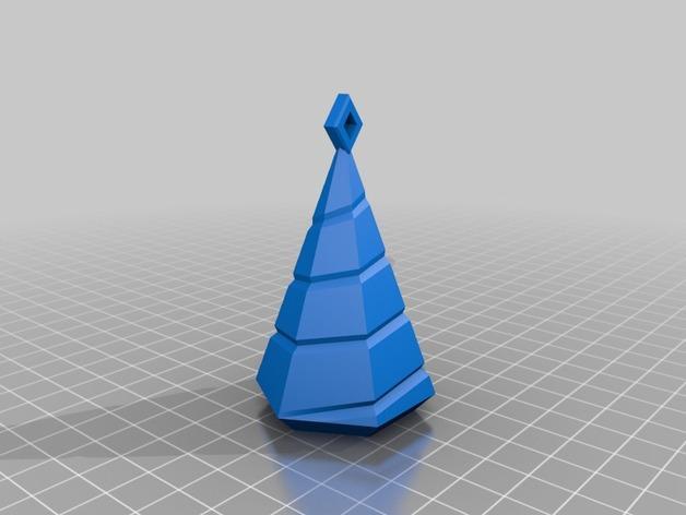 迷你树灯 3D模型  图4