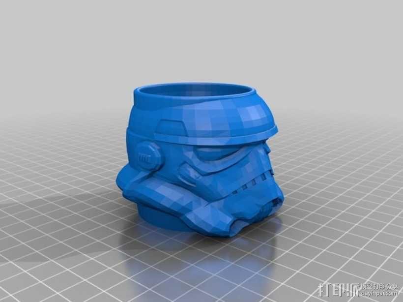 突击队员 鸡蛋杯 3D模型  图1