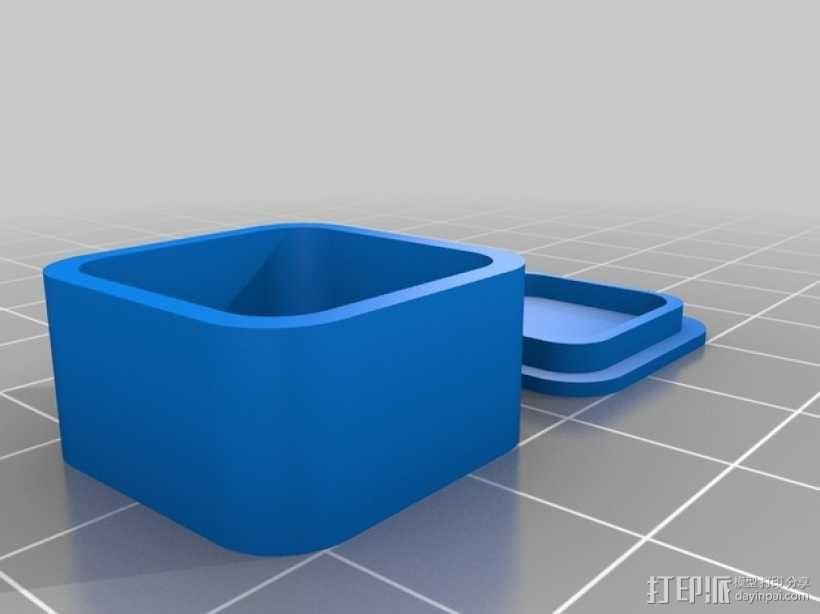 定制化圆角小盒 3D模型  图2