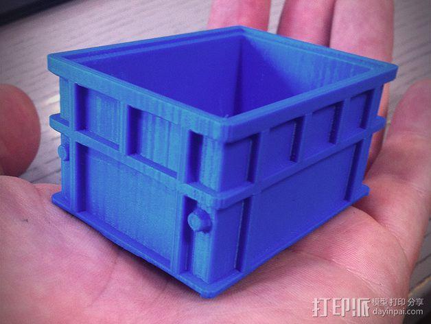 可堆叠小盒 3D模型  图3