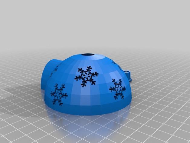 圣诞树装饰品:圣诞彩灯 3D模型  图2