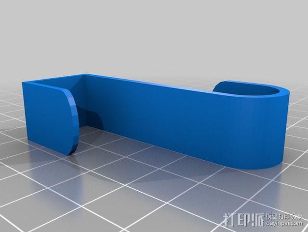 橱柜门 挂钩 3D模型  图2