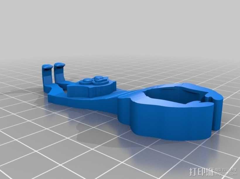 长臂猿挂饰 3D模型  图2
