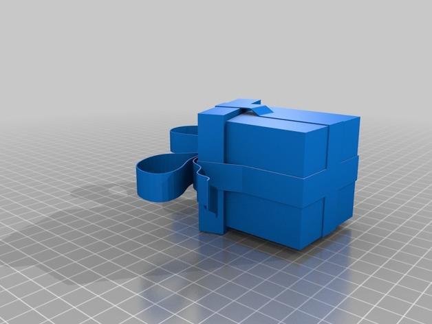 圣诞节礼物盒 3D模型  图4