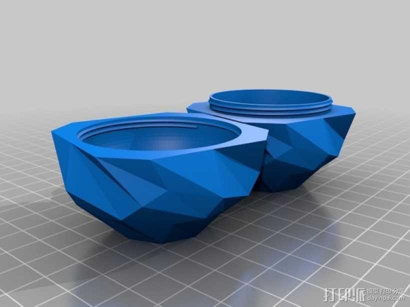 螺旋小球 装饰品 3D模型  图3