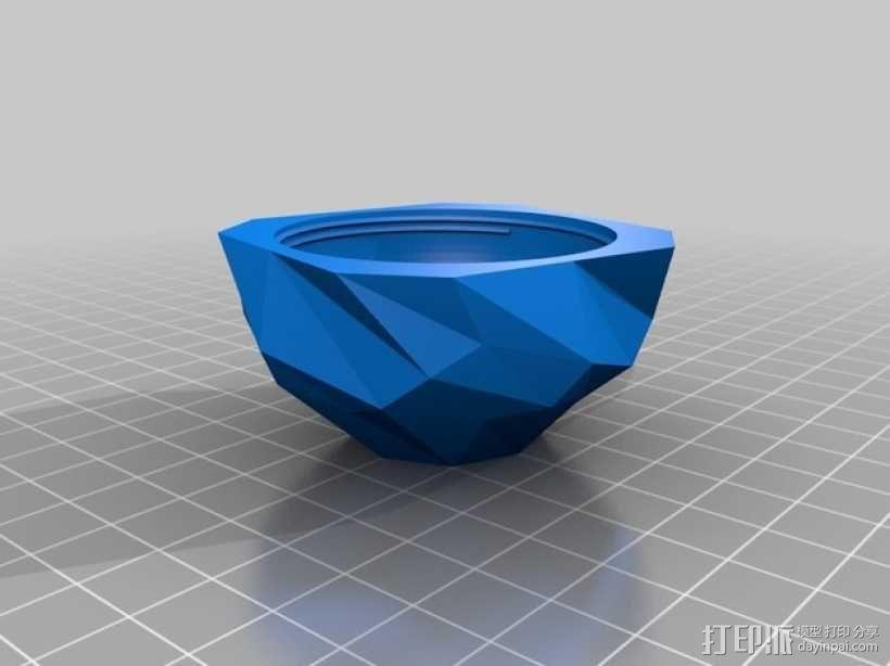 螺旋小球 装饰品 3D模型  图4
