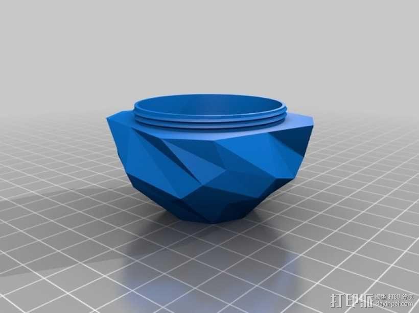 螺旋小球 装饰品 3D模型  图5