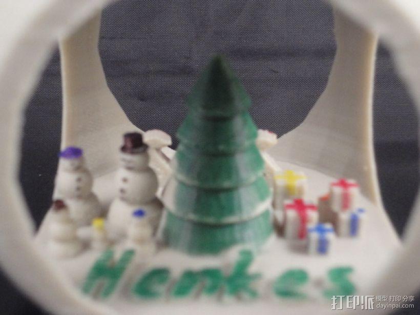 定制化圣诞树装饰品 3D模型  图4