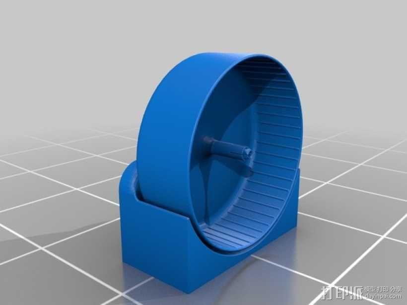 仓鼠滚轮 3D模型  图1