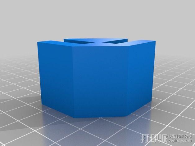 模块化的蜂巢面板 3D模型  图4