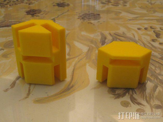模块化的蜂巢面板 3D模型  图2