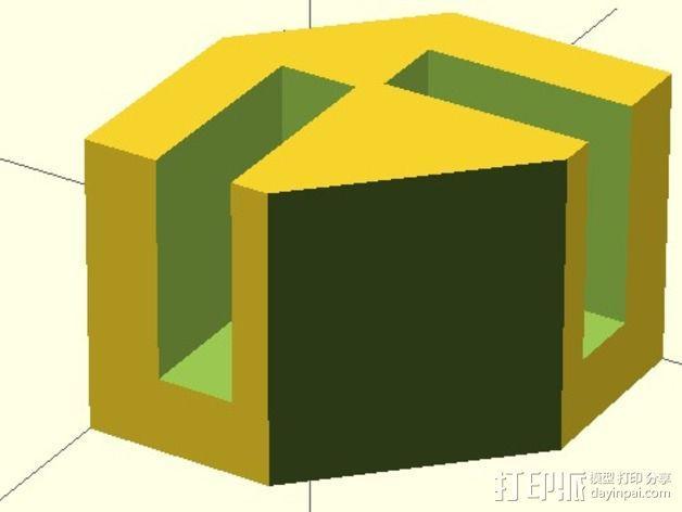 模块化的蜂巢面板 3D模型  图8