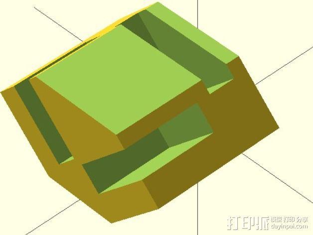 模块化的蜂巢面板 3D模型  图10