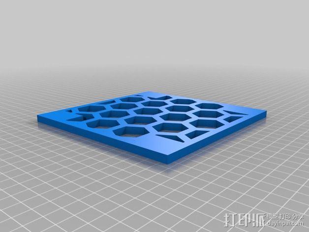 模块化的蜂巢面板 3D模型  图7