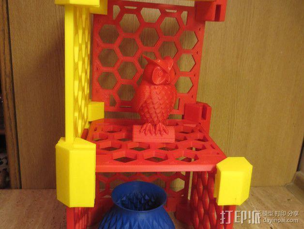 模块化的蜂巢面板 3D模型  图11