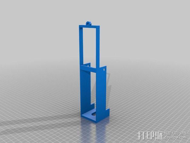 饮水鸟 装饰品 3D模型  图2