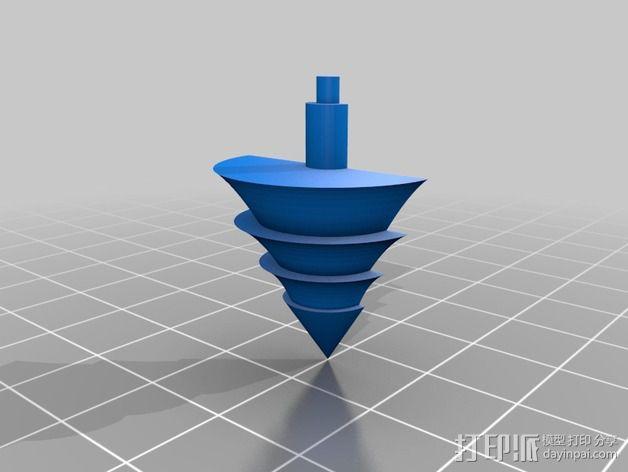 雪景球/雪花玻璃球 装饰品 3D模型  图5