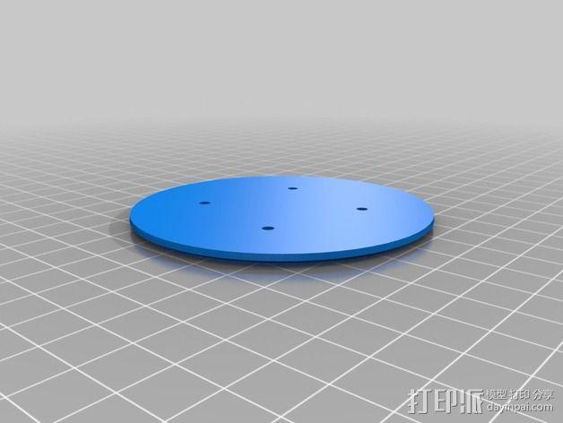 雪景球/雪花玻璃球 装饰品 3D模型  图7