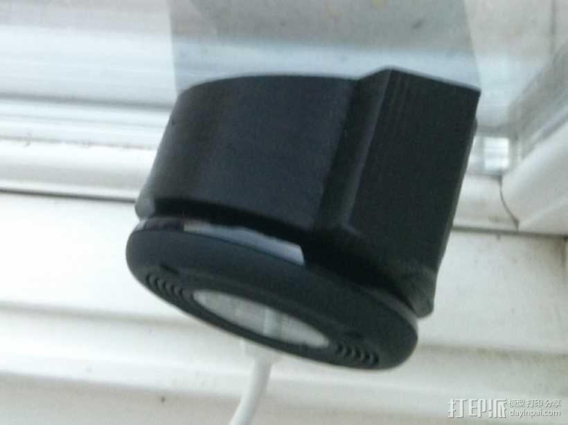 Dropcam Pro监控摄像头保护套 3D模型  图1