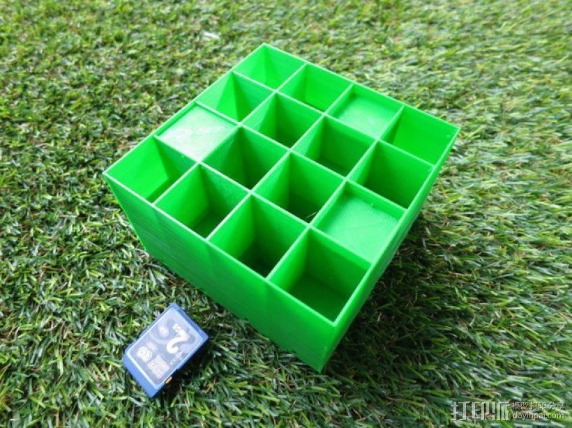 蜂巢形声音扩散器 3D模型  图11